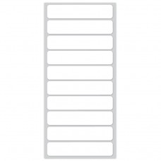 Blank White ONCE® Iron on Name labels