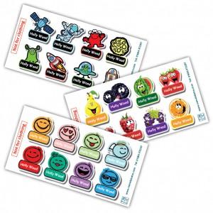 Custom Cartoon Labels for Kids