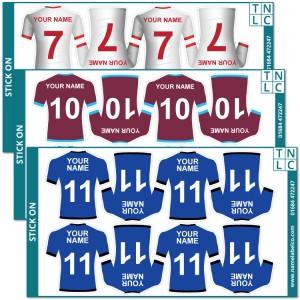 Sports Shirt Stickers