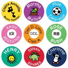 Round Stick on Labels