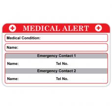 Medical Alert Labels + Vinyl Marker Pen