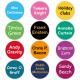 Round Clothing Name Labels LAUNDER®